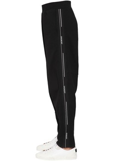 Givenchy Cotton Track Pants W/ Logo Side Bands