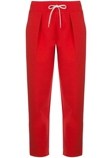 Givenchy cropped drawstring trousers