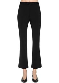 Givenchy Cropped Punto Milano Pants