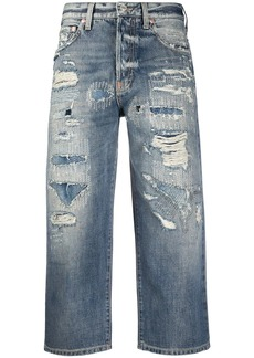 Givenchy cropped straight leg jeans