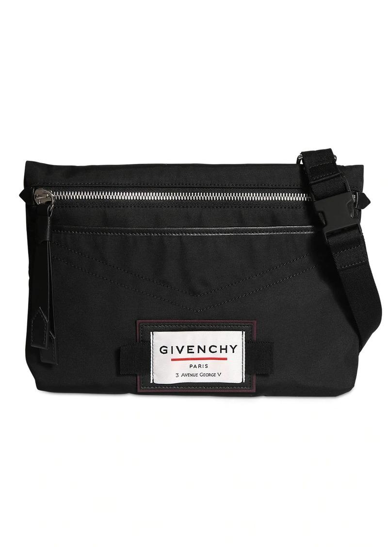 Givenchy Crossbody Nylon Bag W/logo