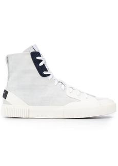 Givenchy denim hi-top sneakers