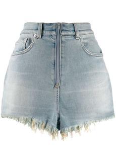 Givenchy denim mini shorts