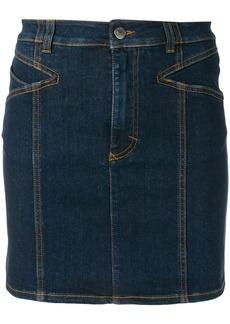 Givenchy denim mini skirt