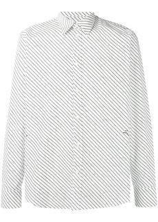 Givenchy diagonally striped shirt