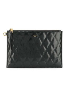 Givenchy diamond quilted clutch bag