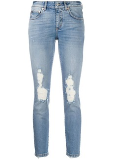 Givenchy distressed skinny fit jeans