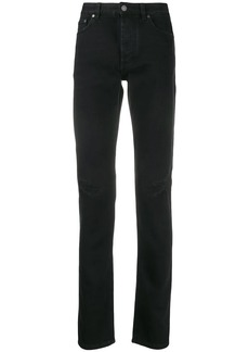 Givenchy distressed slim-fit jeans