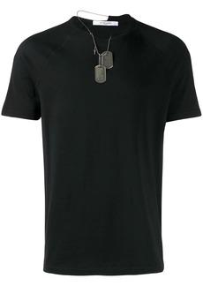 Givenchy dog tag T-shirt