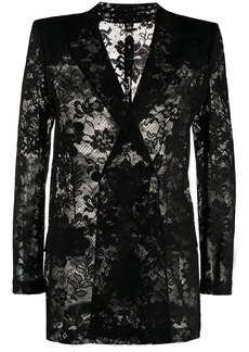 Givenchy double-breasted jacket in lace