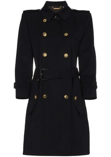 Givenchy double breasted trench coat