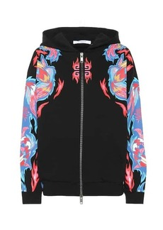 Givenchy Dragon-printed cotton hoodie