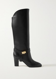 Givenchy Eden Leather Knee Boots