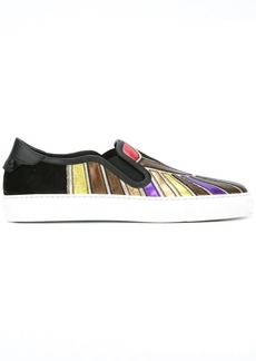 Givenchy Egyptian print low top sneakers