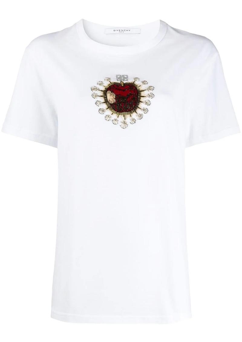 Givenchy embellished apple T-shirt