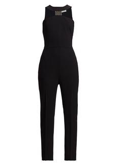 Givenchy Embellished Band-Neck Jumpsuit