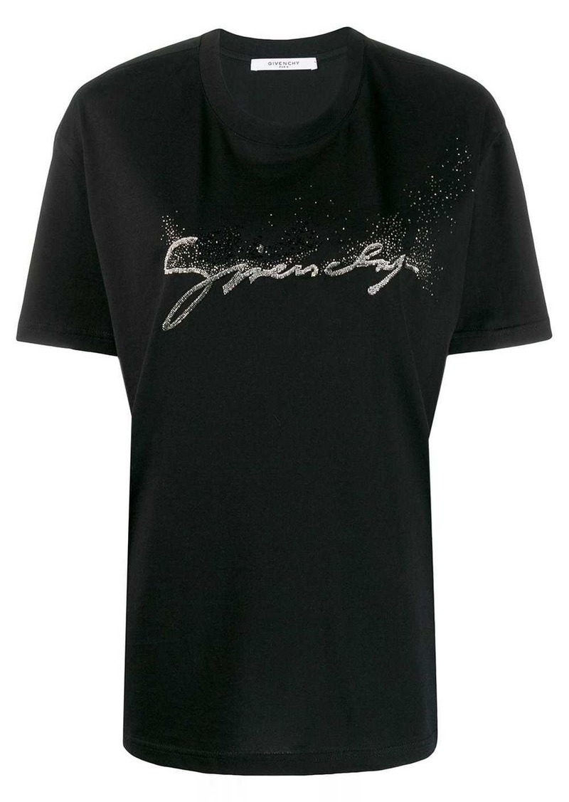 Givenchy embellished logo T-shirt