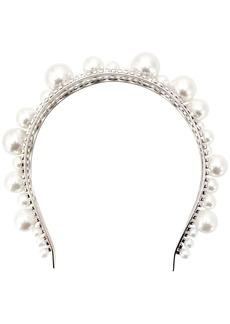 Givenchy embellished structured headband