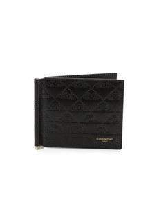Givenchy Embossed Leather Bi-Fold Wallet