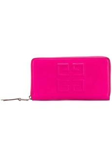 Givenchy embossed logo long purse