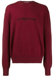 Givenchy Embroidered logo sweater