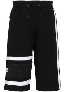 Givenchy embroidered logo track shorts