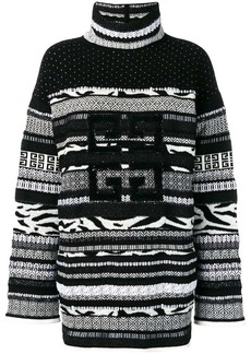 Givenchy textured roll-neck sweater