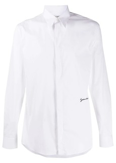 Givenchy embroidered slim-fit shirt