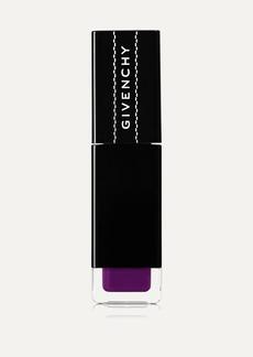 Givenchy Encre Interdite Liquid Lipstick - Purple Tag 04