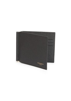 Givenchy Eros Leather Bi-Fold Clip Wallet