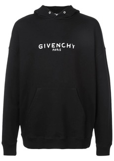 Givenchy faded logo hoodie