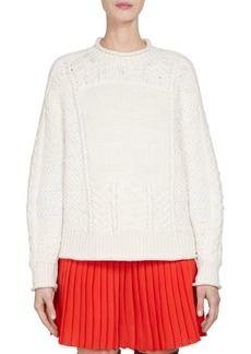 Givenchy Fisherman Cable-Knit Sweater