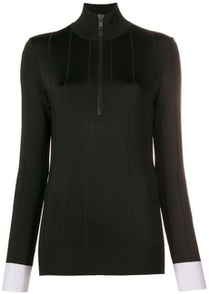 Givenchy fitted high neck pullover