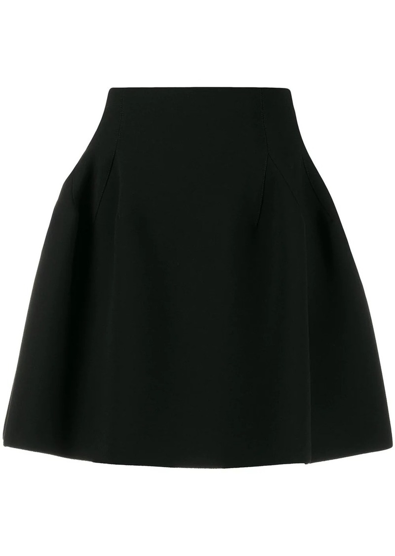 Givenchy flared mini skirt