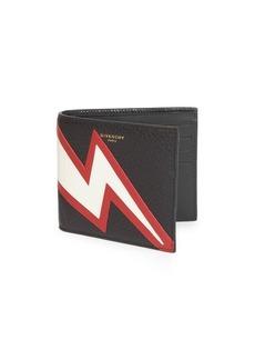 Givenchy Flash Leather Bi-Fold Wallet