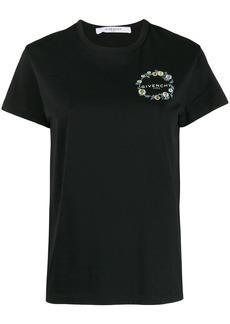Givenchy floral logo T-shirt