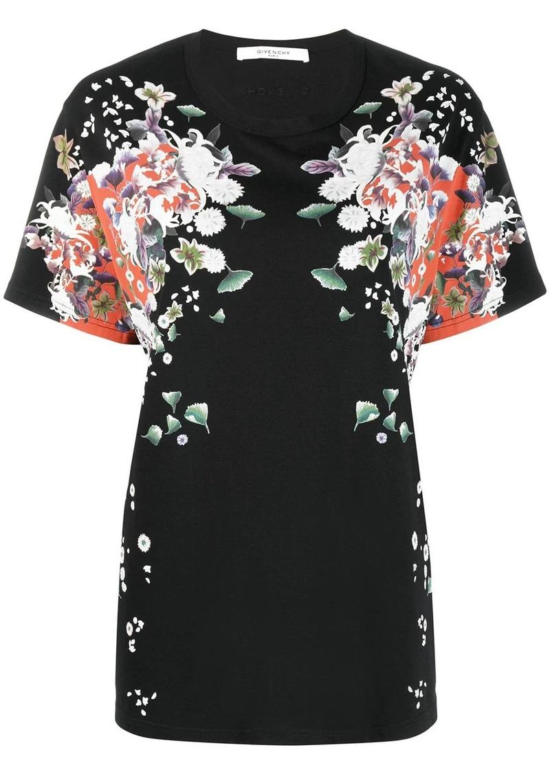 Givenchy floral print T-shirt