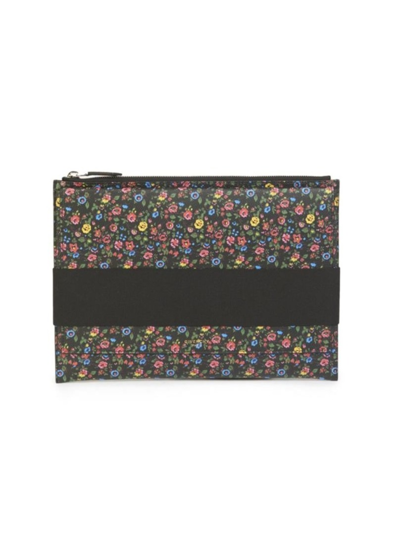 Givenchy Floral Printed Wallet