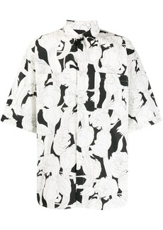 Givenchy floral relaxed shirt