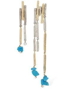 Givenchy Fractured Asymmetrical Earrings
