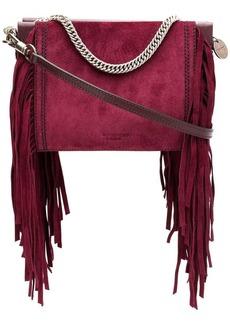 Givenchy fringe square clutch bag