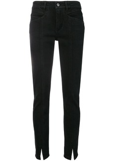 Givenchy front slit trousers