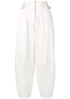 Givenchy front zip trousers