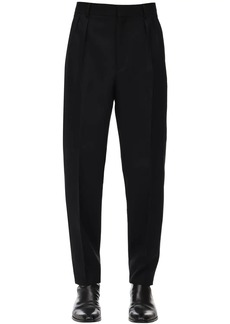 Givenchy Gabardine Wool Pants W/ Pleats