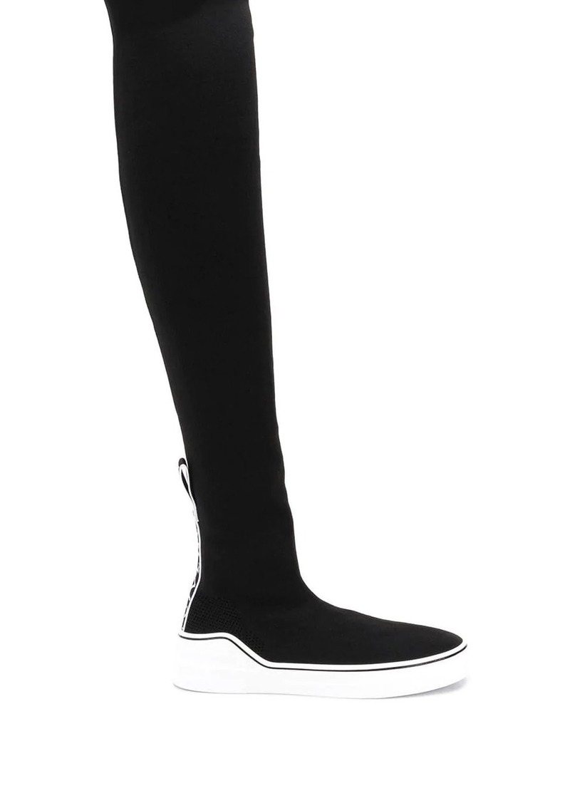 Givenchy George V sock sneaker boots
