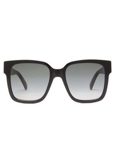 Givenchy 2G square acetate sunglasses