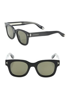 Givenchy 47MM Square Sunglasses