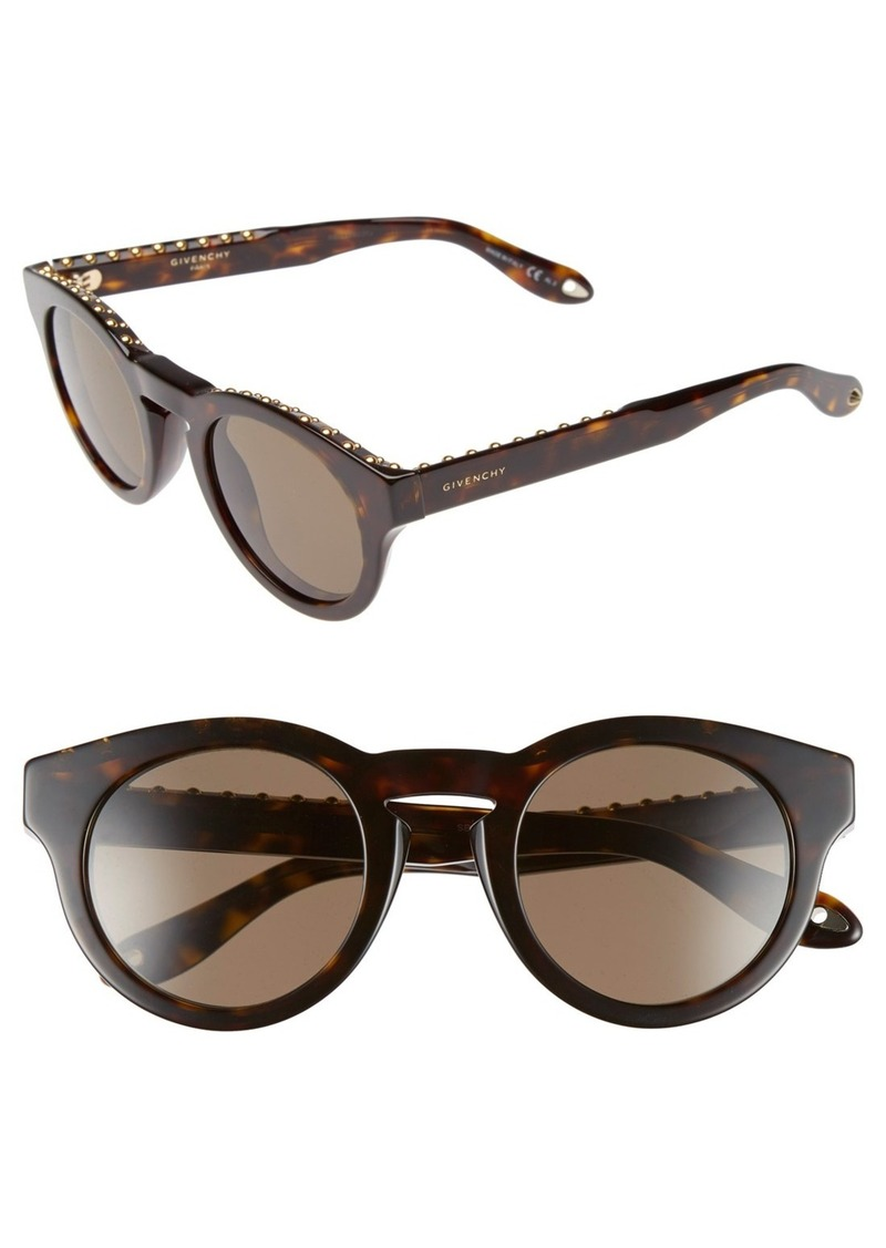 Givenchy 48mm Round Sunglasses