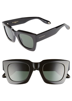 Givenchy 48mm Square Sunglasses