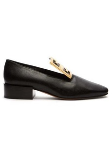 Givenchy 4G block-heel leather loafers